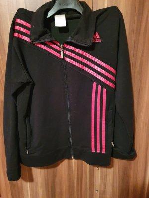 Adidas Giacca-camicia nero-rosa