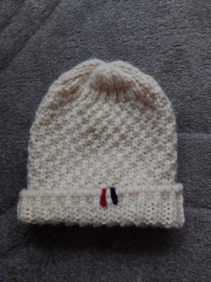 Napapijri Chapeau en tricot blanc cassé-beige clair