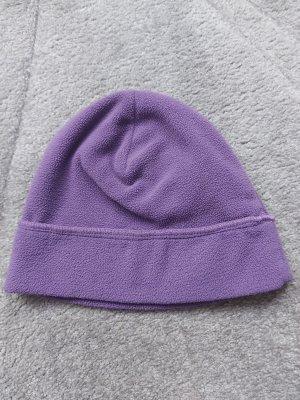 Manguun Chapeau en tissu violet-gris violet