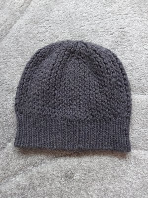 0039 Italy Knitted Hat grey-dark grey