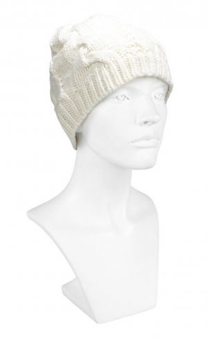 Codello Sombrero de punto blanco