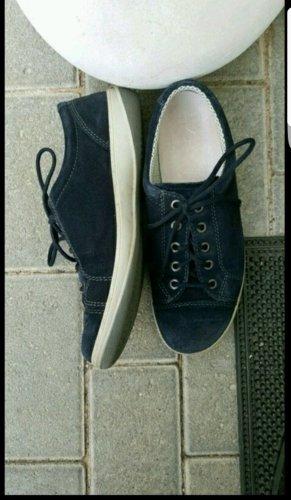 ara Lage schoenen wit-donkerblauw