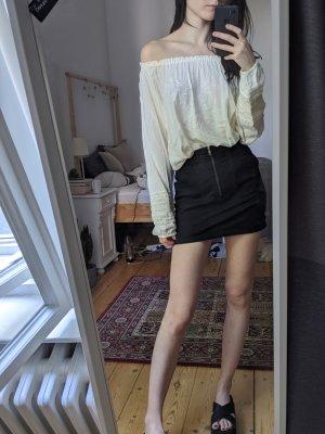 Schöne off-shoulder Boho-style Carmen Bluse