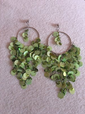 Torebki Creole srebrny-zielony