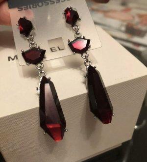 1.2.3 Paris Dangle silver-colored-dark red