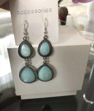 1.2.3 Paris Dangle silver-colored-turquoise