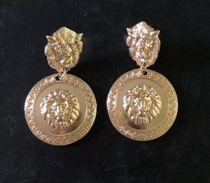 100 Pendientes colgante color oro