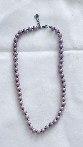 Schöne Perlen Kette Länge 45 cm Vintage