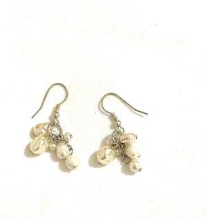 Schöne Perlen Ohrringe Vintage