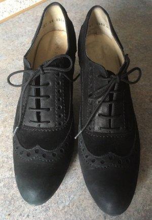 Peter Kaiser Bottines à lacets noir