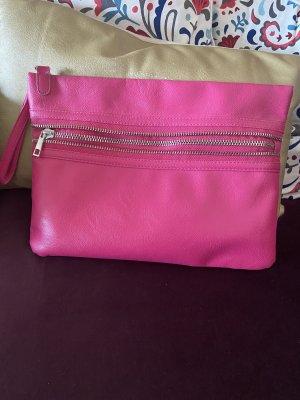 Schöne Pink Farbe clutches Tasche Atmosphere