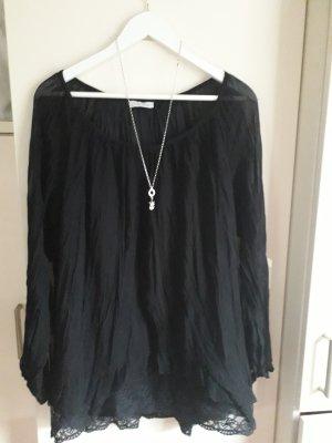 Schöne Plissee-Bluse, Tunika von Aniston, Gr. 40