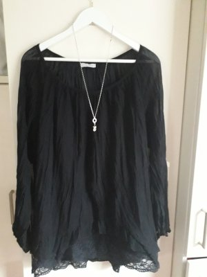 Aniston Slip-over Blouse black polyester