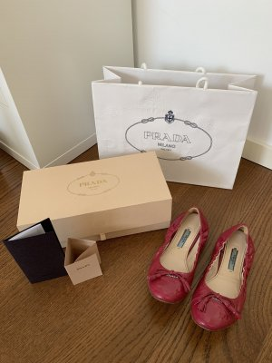 Schöne Prada Ballerina Schuhe 37,5 Rechnung/Box