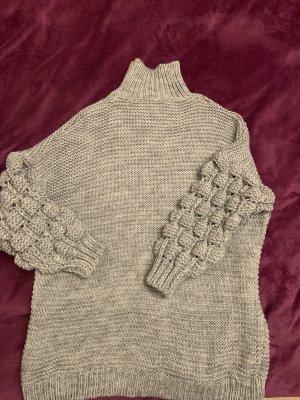 Turtleneck Sweater light grey