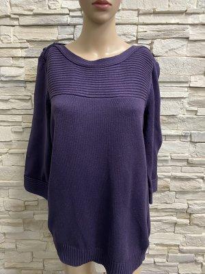 Boysen's Pull tricoté brun pourpre