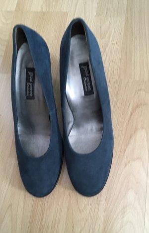 Paul Green Classic Court Shoe petrol-black