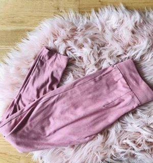 Schöne Raulederhose pink