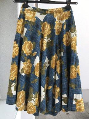 Anthropologie Rozkloszowana spódnica Wielokolorowy