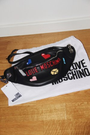 Love Moschino Banane multicolore cuir