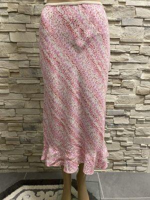 New Look Spódnica midi różowy-biały