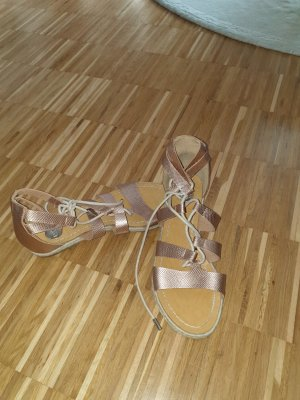 Roman Sandals rose-gold-coloured