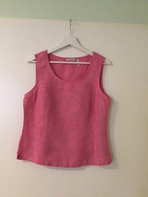 Schöne rosa Bluse aus Leinen