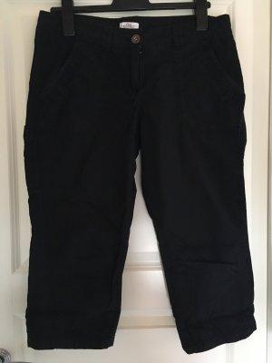 s.Oliver Pantalon 3/4 noir coton