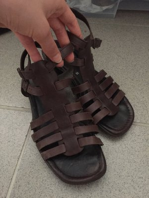 ara Roman Sandals dark brown