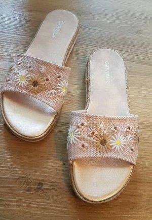 Catwalk Platform Sandals rose-gold-coloured-beige