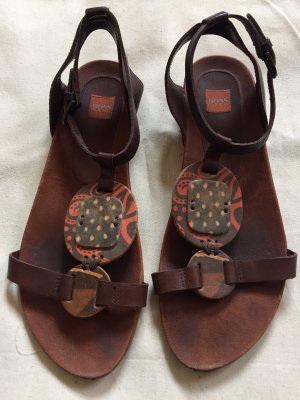 Boss Orange Roman Sandals brown-grey brown