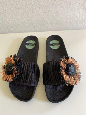 LAB Beach Sandals black-beige