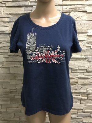 Boatneck Shirt dark blue