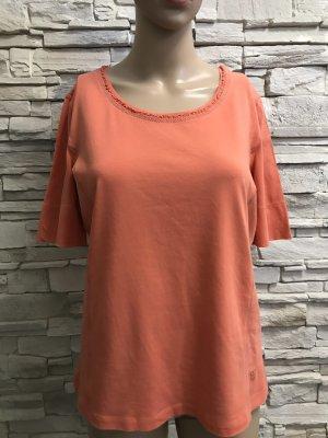 Basler Boatneck Shirt dark orange