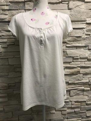 Esprit Boatneck Shirt white