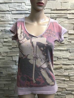 Boatneck Shirt mauve-dusky pink
