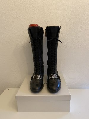 Cesare Paciotti Aanrijg laarzen zwart Leer