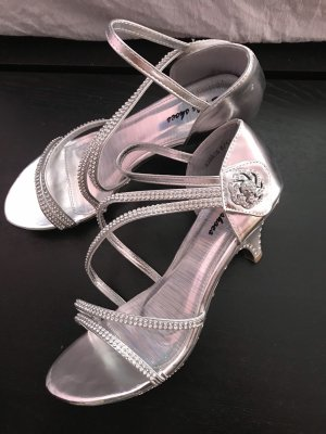 Dianette sandalen zilver