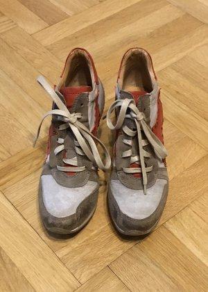 Air Step Sneakers met veters veelkleurig