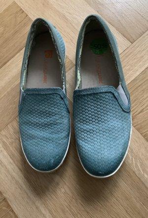 Slip-on Sneakers cadet blue