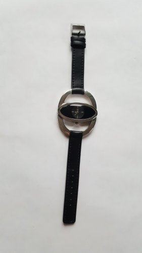Self-Winding Watch black-silver-colored