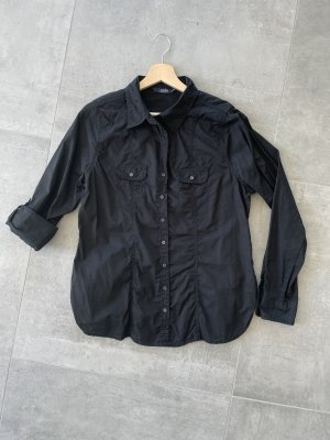 Schöne schwarze Bluse - Gr. 42