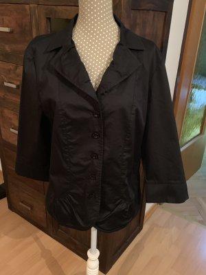 Schöne schwarze Bluse, Jacke von Betty Barclay