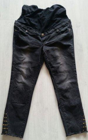 Schöne schwarze Bpc Umstands Jeans Gr. 44