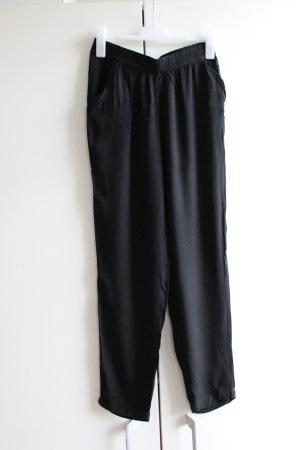 H&M Divided Harem Pants black