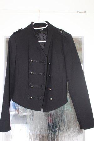 H&M Military Jacket black