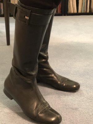 Schöne schwarze Stiefel Donna Carolina
