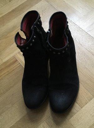 Air Step Laarsjes met rits zwart