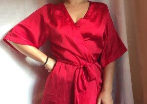 H&M Kimono red polyester