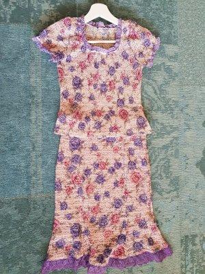 Twin Set punto púrpura-violeta azulado